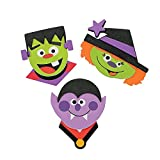 Halloween Magnets Craft Kit (1 Dozen)