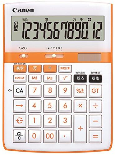 [Amazon.co.jp limited] Canon calculator 12-digit HS-2200A Orange