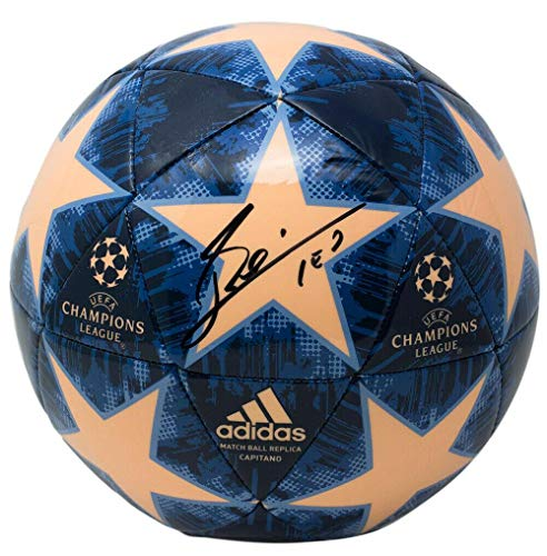 Lionel Messi Signed Adidas UCL Match Replica Soccer Ball ICONS - JSA Certified - Autographed Soccer Balls (Messi Signed Ball)