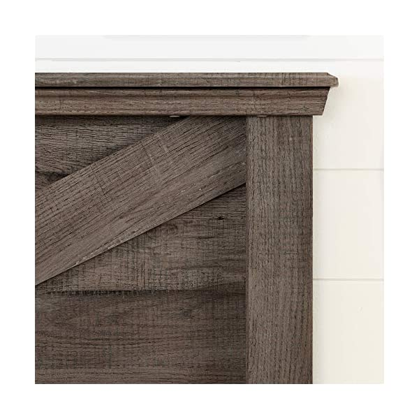 South Shore Avilla Full/Queen Headboard, Fall Oak