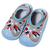 f48da31e8 Calcetines de verano para bebé, antideslizantes, con suela de goma,  calcetines de algodón