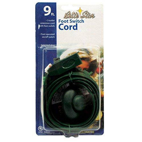 Brite Star - Cable alargador de 3 Tomas de Corriente, 3 Tomas, 1, 1