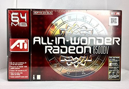 (All In Wonder Radeon 8500DV Agp 64MB Ddr Retail)