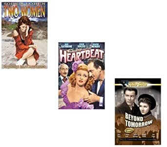 "TWO WOMEN (1961 Sophia Loren) / HEARTBEAT (1946 Ginger Rogers) / BEYOND TOMORROW (1940 Richard Carlson) ""3 DVD SET"""