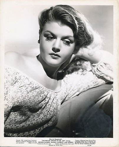 ANGELA LANSBURY/PRIVATE AFFAIRS OF BEL AMI/8X10 ORIGINAL PHOTO AA8982