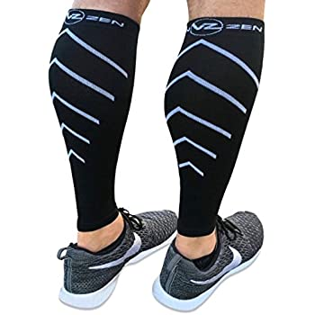ec9f3b237f Calf Compression Sleeve Toeless Compression Socks Women & Men Best Footless  Leg Support Sleeves for Calves - Improve Circulation for Shin Splint, ...