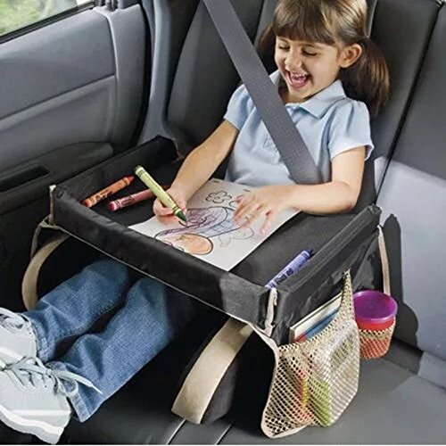 Lvbeis Kinder Reisetablett FÜR Autositz und Kinderwagen Wasserdichte Aufbewahrungstasche