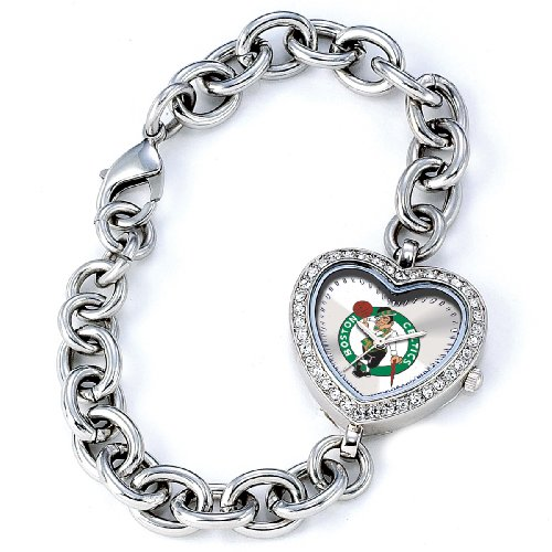 NBA Women's BH-BOS Heart Collection Boston Celtics Watch