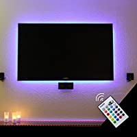 """Bason USB Powered retroiluminación LED TV Home Theater Lighting for40–70"""" televisión de visualización plana"""