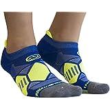 Crazy Compression Runners - Elite Compression Running Socks (MD/LG (9-13), Blue)