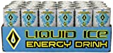 Liquid Ice Energy Drink Sugar Free, 8.3-Ounce Cans (Pack of 24)