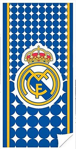 Real Madrid Toalla de Baño y Playa de Microfibra. 70x140 cm. RM171155