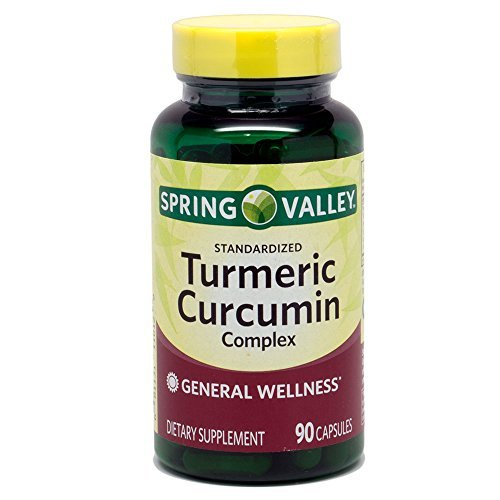 Spring Valley - Turmeric Curcumin Complex, 90 Capsules (Marketplace Valley Spring)