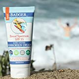 Badger SPF 35 Sport Sunscreen Cream - 2.9 fl oz Tube