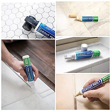 Grout Pen Brown - Ideal to Restore the Look of Tile Grout Lines ...