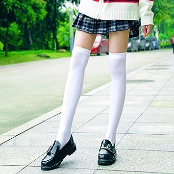 XIU*RONG Overknee Calcetines Largos Y Gruesos Calcetines Calientes Y 3 Pares De Tubo Largo