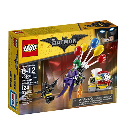 - THE LEGO BATMAN MOVIE The Joker Balloon Escape 70900 Batman Toy