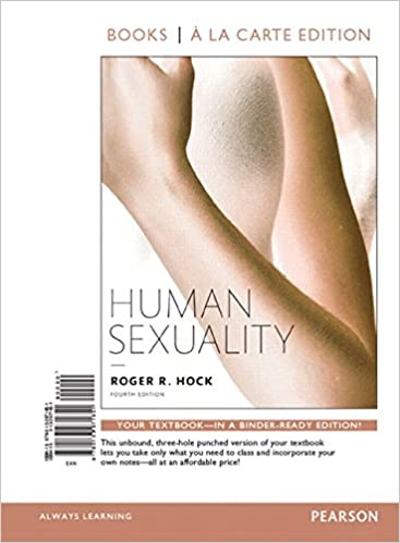 Human sexuality textbooks by pearson