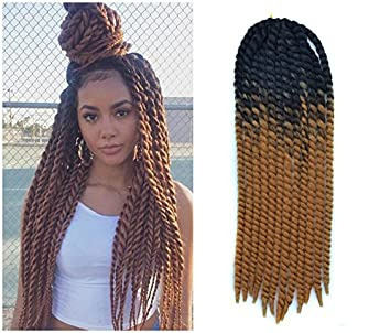 Amazon 24 inch crochet braid hair extensions havana mambo 24 inch crochet braid hair extensions havana mambo twist 12 strands pack 120g pmusecretfo Images