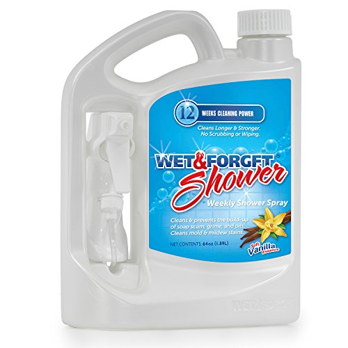 Cleaner Shower (Wet & Forget Weekly Shower Cleaner, 64 oz.)