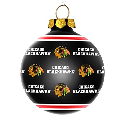 Blackhawks holiday ornament giveaway