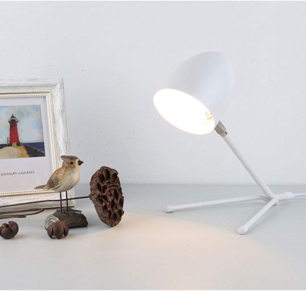 WZJ-TABLE LAMP Lámpara de Mesa Moderna y Moderna de Hierro Forjado, Hormiga de Hierro Forjado, lámpara de Lectura Que cuida los Ojos (Color : C)