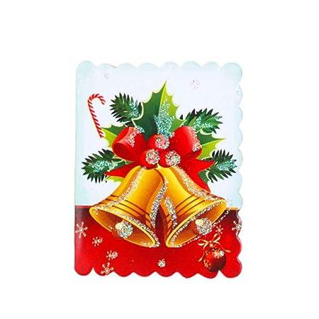 Compra UHAoo - Tarjetas navideñas con Texto en inglés Ccards ...