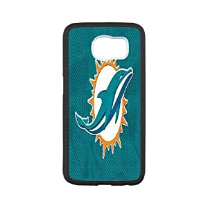 Best Phone case At MengHaiXin Store Team Sports Miami dolphins Pattern 15 For Samsung Galaxy S6
