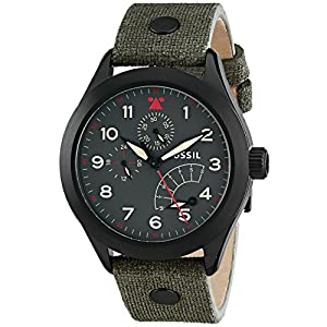 Fossil Analog Gunmetal Dial Men's Watch – CH2941