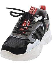 Skechers Womens Kicks Love Platform Air-Cooled Athletic Shoes