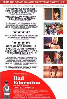 Bad Education Movie Poster Spanish English HIGH QUALITY