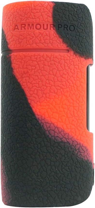Transparent RUIYITECH Coque de Protection en Silicone pour Vaporesso Armour Pro 100 W Mod Case Skin Cover Wrap
