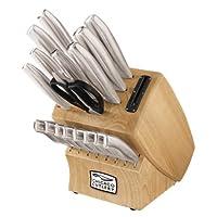 Juego de cuchillos Chicago con cuchillería Insignia acero de 18 piezas con bloque