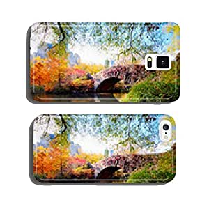 Autumn in Central Park, New York cell phone cover case iPhone6 Plus