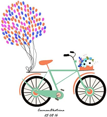 Shi18sport Bicicleta Fiesta De Cumpleaños Cumpleaños Bricolaje ...