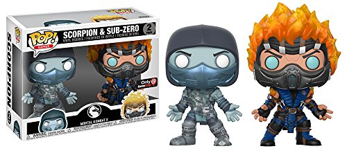 Funko POP! Mortal Kombat - Scorpion and Subzero Vinyl Figures (2 PACK) - GameStop Exclusive - RARE for $<!--$59.88-->