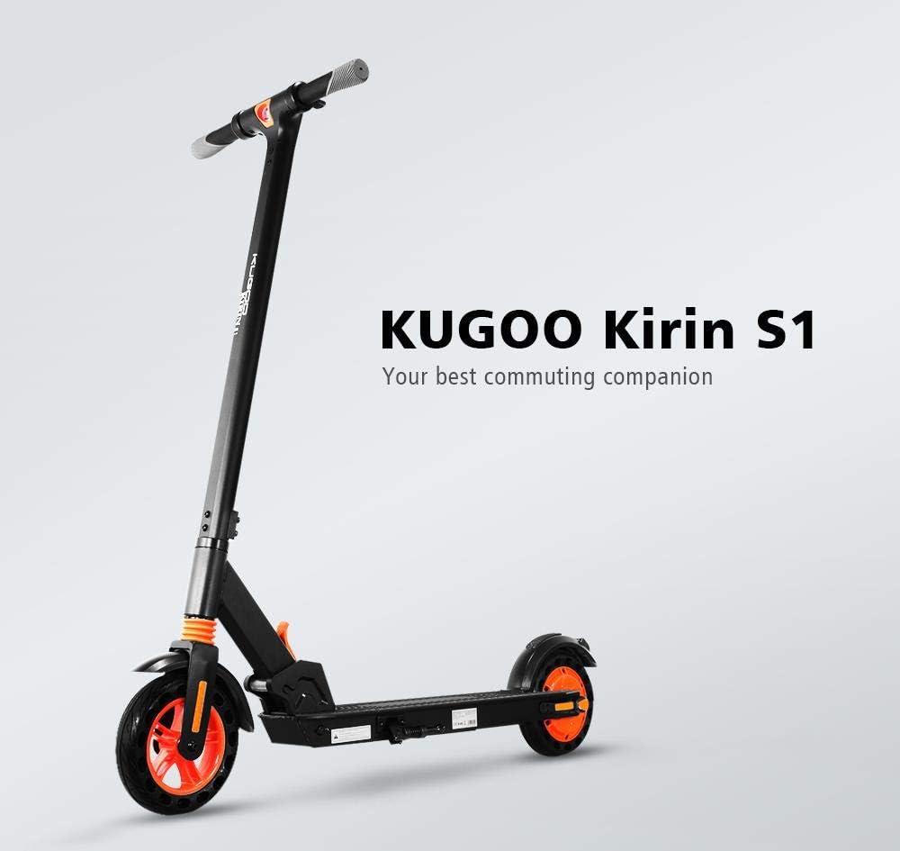 Scooter Elettrico Design Migliorato con Controllo App Doppio Sistema di Frenatura HOMMINI KUGOO Kirin S1 Monopattino Elettrico per Adulto Velocit/¨/¤ Fino a 25 km//h