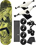 Zero Skateboards Whosoevers Skateboard 8'' x 31.9'' Complete Skateboard - Bundle of 7 items