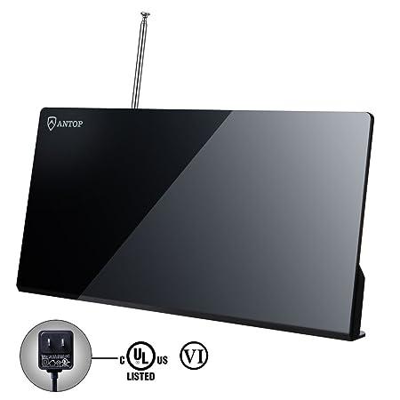 Review Indoor TV Antenna-ANTOP 50