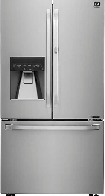 Ft Energy Star Black Stainless Steel French Door Refrigerator LG ...
