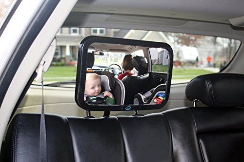 Spiegelfl/äche von 155 x 99 mm R/ücksitzspiegel F/ür Babys//kleine Kinder mit 2 Befestigungsoptionen//Kopfst/ütze oder Rear Window besonders Entwickelt by DURSHANI