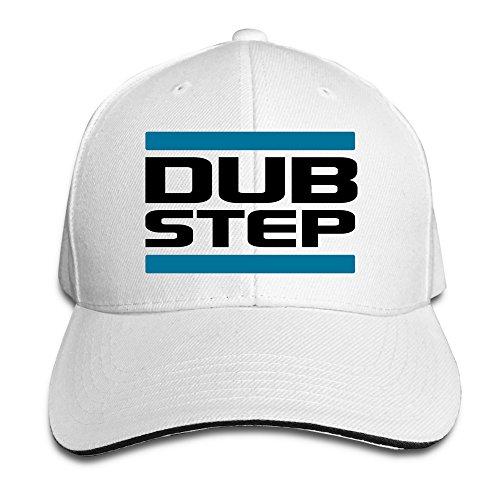 dubstep-unisex-100-cotton-adjustable-baseball-caps-white-one-size
