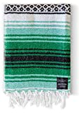 Baja Blanket - Yoga Blankets Mexican - Mexican Blanket Yoga Serape Blankets - Mexican Blanket - Yoga Blanket Perfect as Beach Blanket, Camping Blanket (Forest)
