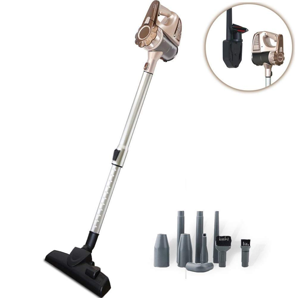 TINTON LIFE Cordless Rechargeable Lightweight Handheld Stick Vacuum Cleaner with Wall-Mounted Base(Cordless Vacuum Cleaner)