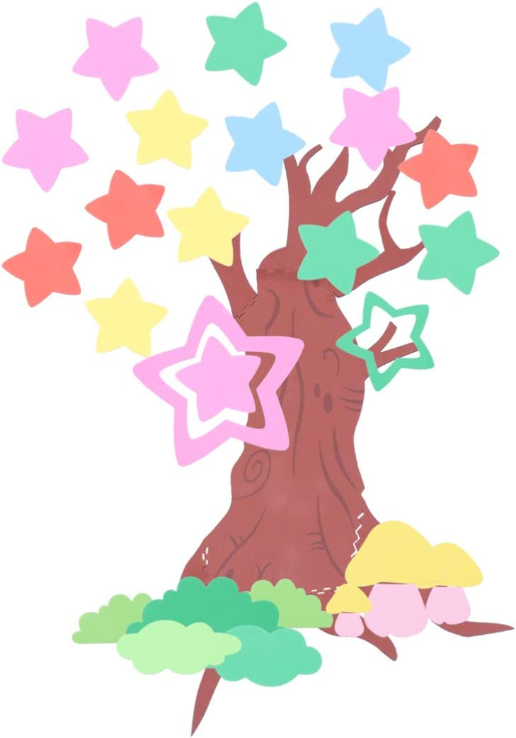 Amazon Com Healifty Cartoon Tree Wall Stickers 3d Removable Foam Wall Decals Kids Room Diy Wallpaper Decoration For Nursery Living Room Kindergarten Classroom Bedroom Pentagram Home Kitchen How to draw cartoon trees with easy step by step drawing tutorial. amazon com