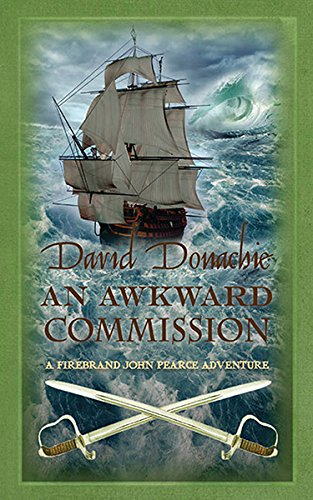 book cover of An Awkward Commission
