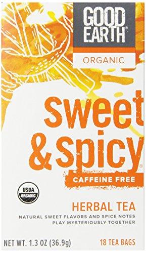 Good Earth Organic Caffeine Herbal