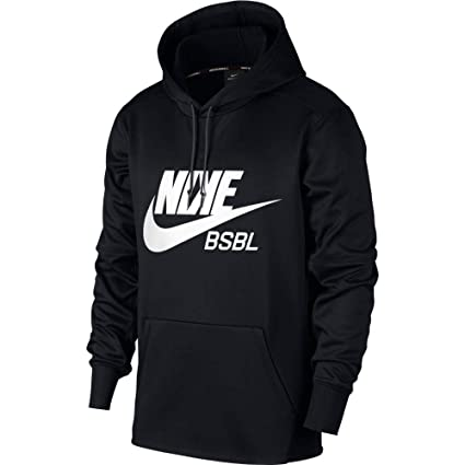 7a931af65 Amazon.com: Nike Men's Baseball Pullover Hoodie: Clothing