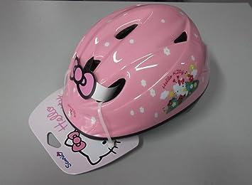 Casco bicicleta niña Kids ironway Original Hello Kitty Pink mariquitas TG.46 – 52