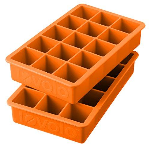 Tovolo Perfect Cube Trays Orange